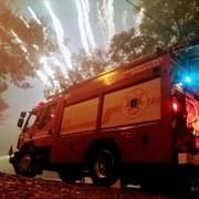 Unidad en fuegos artificiales año nuevo2019 curico