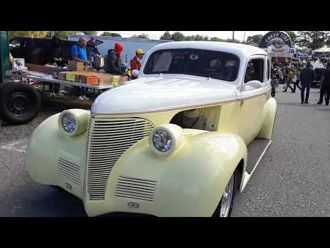 Car Shopping With Pam At 2020 Fall Carlisle Car Corral A Tale Of Two Rods A Rat Roadster & 39 Chevy
