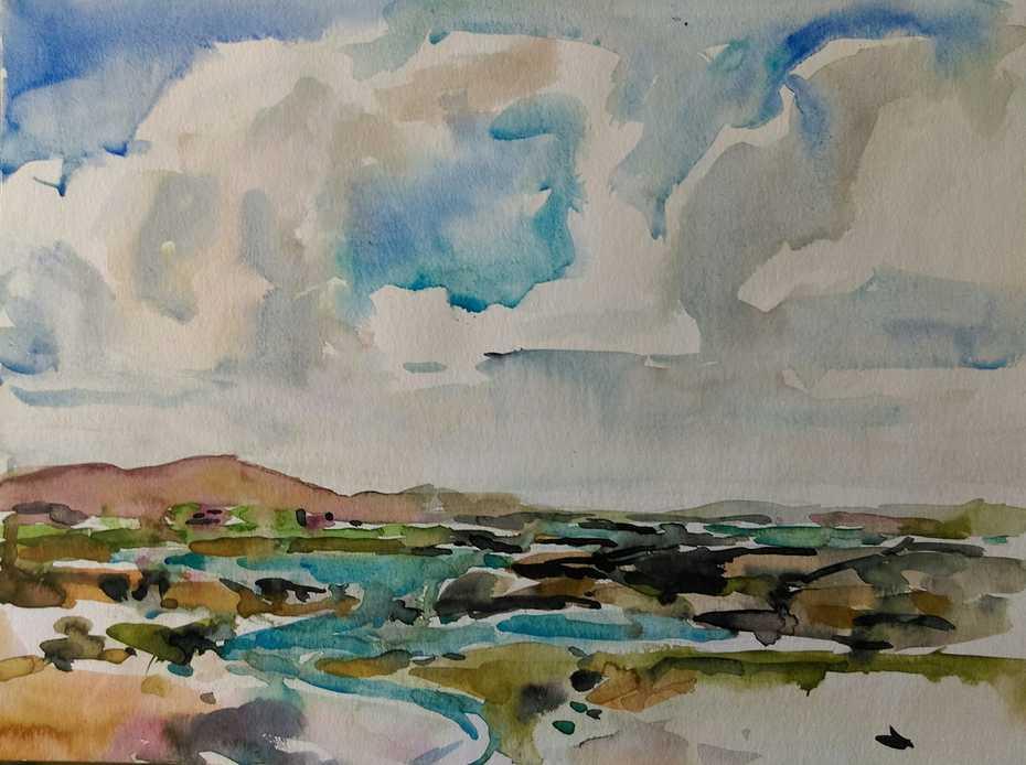 Crazy Sky, Connemara.  4th September 2020