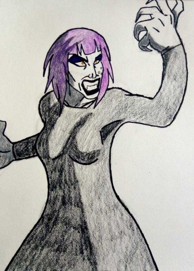 Goth Girl Moss
