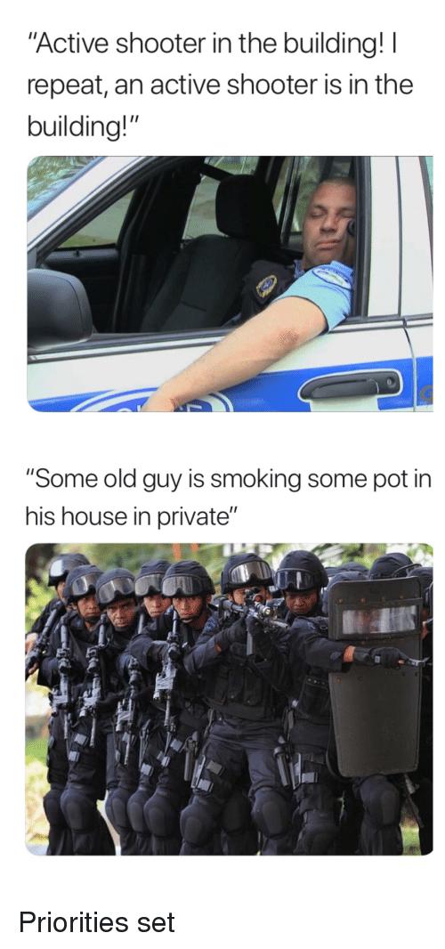 Pot smoking Boomer! go go go