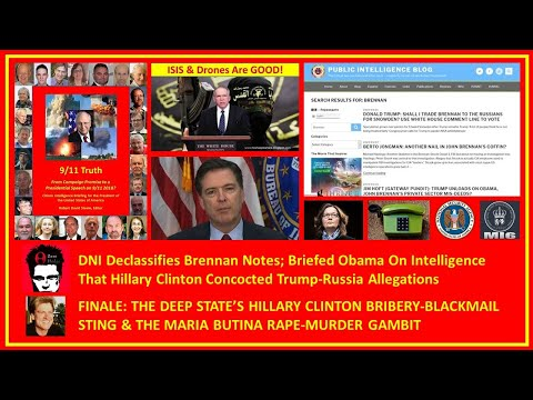 Treason Coming For Cheney, Brennan, Comey, Obama and Clinton? Gold War Cover-Ups and More