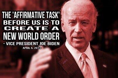 Joe Biden's New World Order