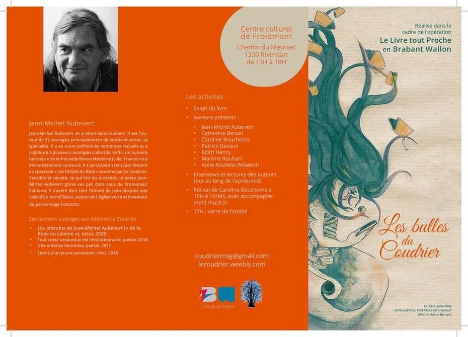 Un événement poétique le 11 novembre à Rixensart