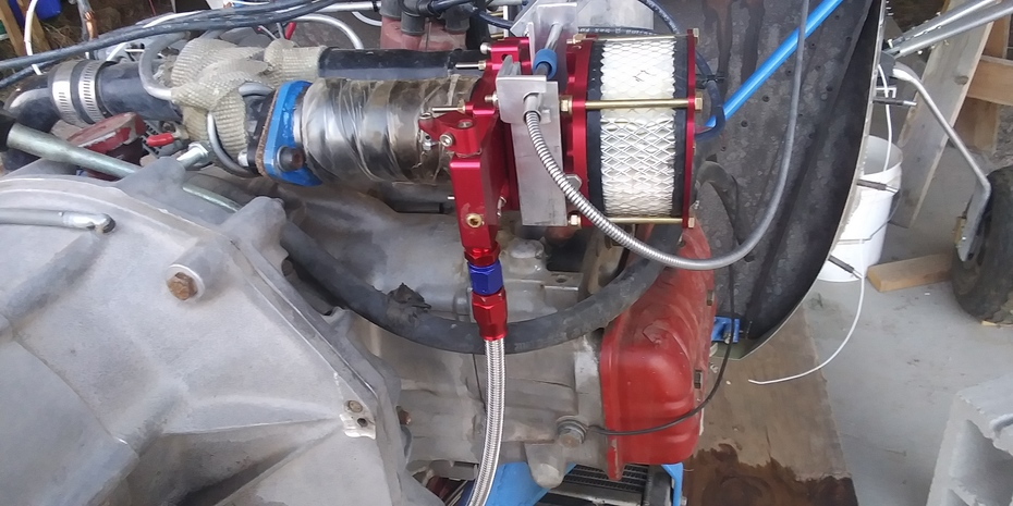 Areoinjector on a Subaru EA-81