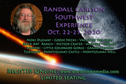 Randall Carlson Southwest Experience Oct. 22-25, 2020