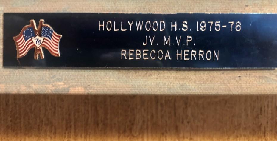 HHS MVP Award 1976
