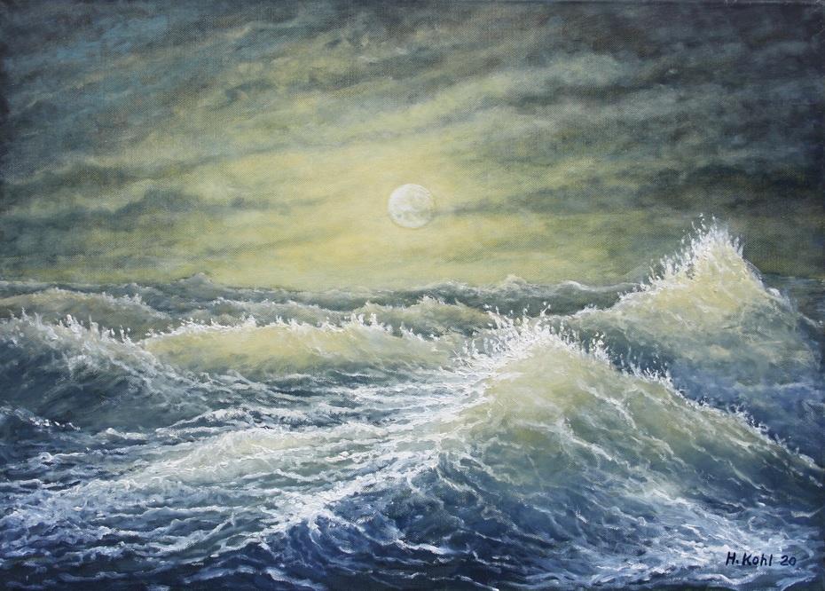 Mondschein auf stürmischer See    IMG_6514