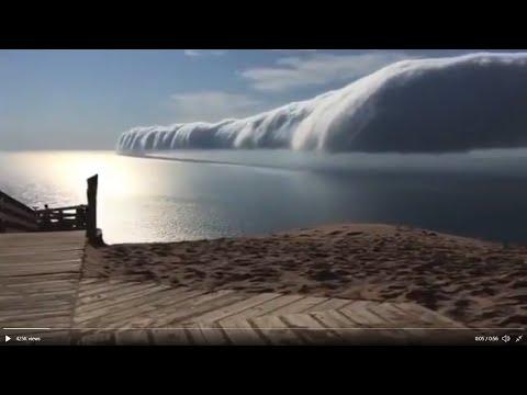 Atlantic Ocean Hottest In 3,000 Years*Atmospheric Radiation Increased 15% In 5 Years*Cloud Tsu^nami?