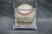 Signed Jim Kaat Baseball