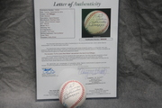 Signed Joe Dimaggio Baseball