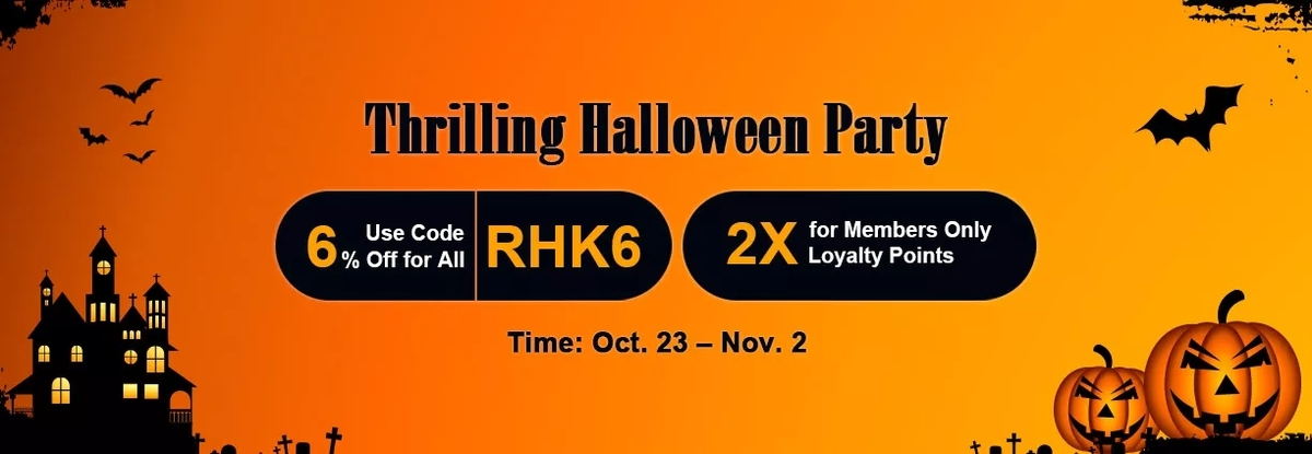 Participate in RSorder Thrilling Halloween Party to Snap up 6% Off Cheap RuneScape Gold Now