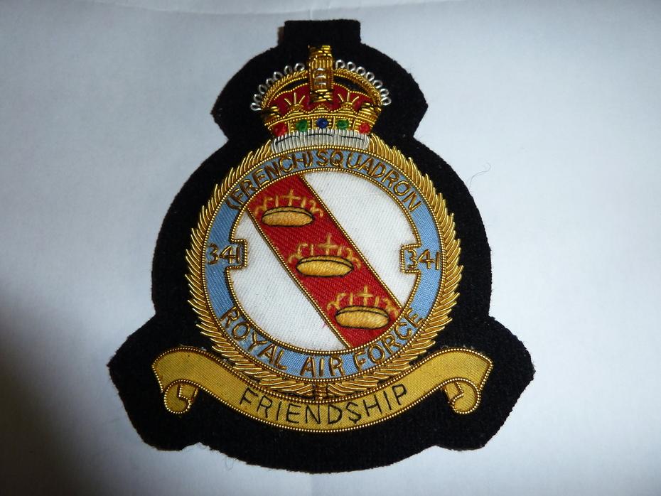 "RAF French Squadron 341 ""Alsace"""