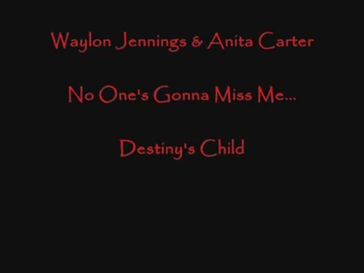 Waylon Jennings & Anita Carter -Niemand gaat miss me-[via torchbrowser.com]