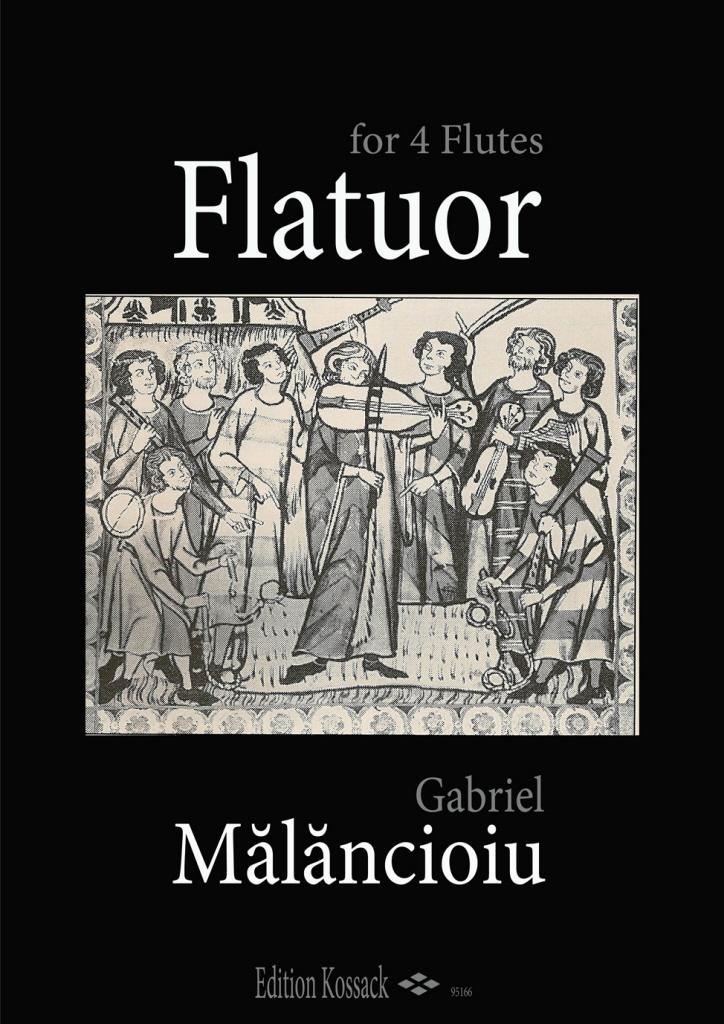 FLATUOR for flute quartet
