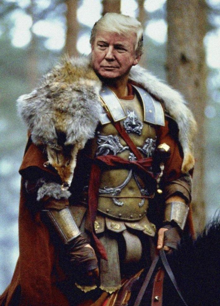 Trump-the-dragon-slayer
