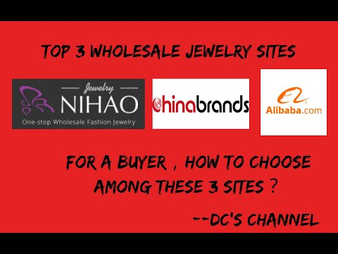 Top 3 Cheap Fashion Wholesale Jewelry Suppliers-Alibaba/Nihaojewelry/Chinabrands.
