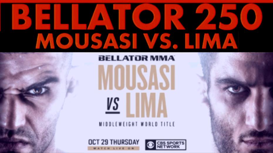 Live!! Bellator 250: Mousasi vs. Lima,(Live'STREAM)#FrEE