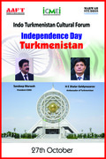 ICMEI Congratulated Turkmenistan on National Day