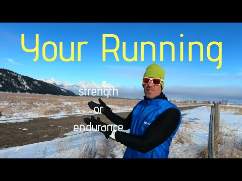 YOUR RUNNING: What do YOU need STRENGTH or ENDURANCE? (+ Hill Repeats /follow along)