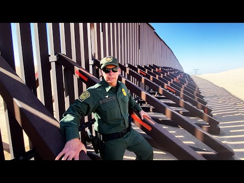 Yuma Sector Border Patrol Chief Describes Floating Border Fence At Imperial Dunes