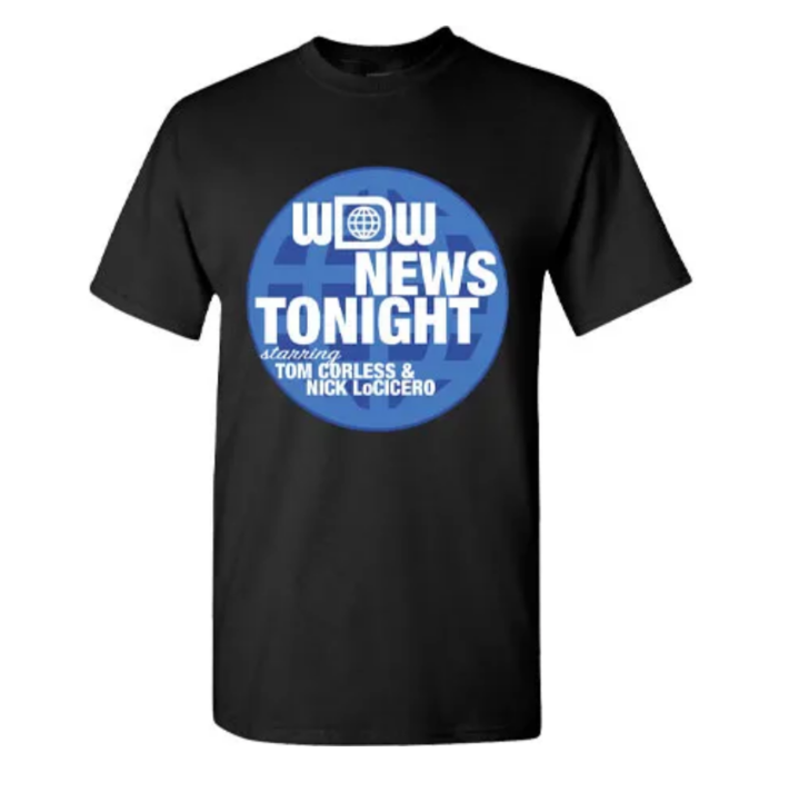 WDW News Tonight Shirts