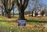Trump support all over Mason County, Michigan