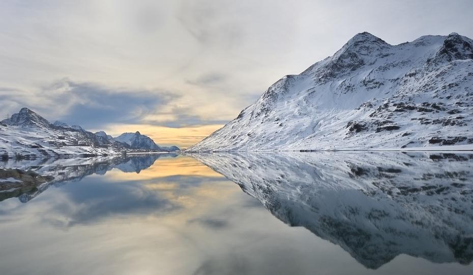 Lago Bianco Passo Bernina