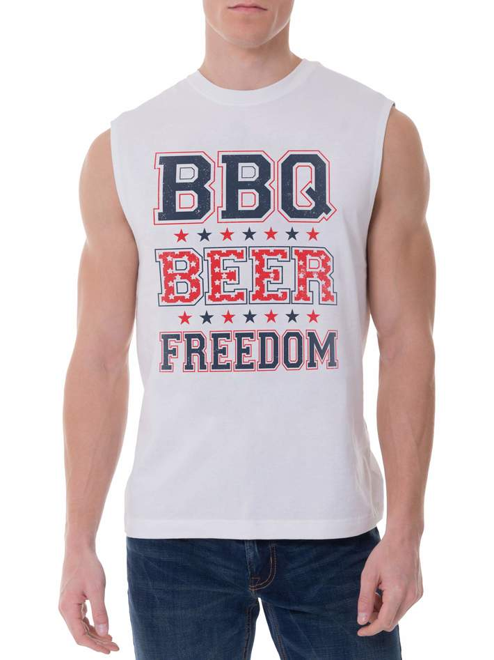 BBQ Beer Freedom T shirts