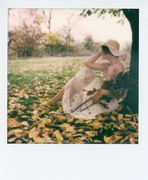 sur l'herbe d'autumne