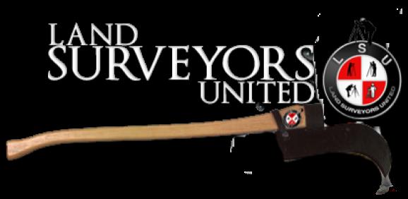 Land Surveyors United Community Logo