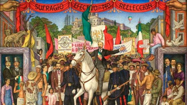 FRANCISCO I. MADERO: PROMUEVE  LA REVOLUCIÒN MEXICANA