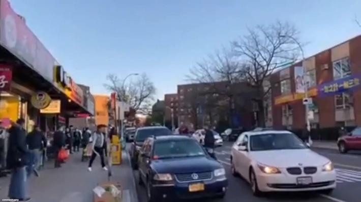 Road rage in Queens
