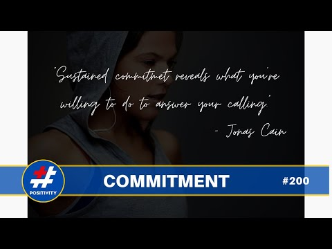 The Magic Word is Commitment