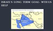 Israel's Long Term Goal