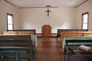 Inside Happy Top church