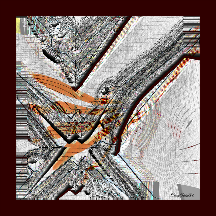 Background 02c grey, canvas