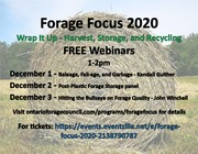 Forage Focus 2020 - Hitting the Bullseye on Forage Quality - John Winchell, Alltech