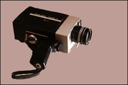 super '8' movie camera