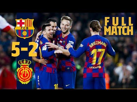 FULL MATCH: Barça 5-2 Mallorca (2019/2020)
