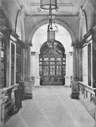 Entrance Hall of Hornsey's Victorian Public Library