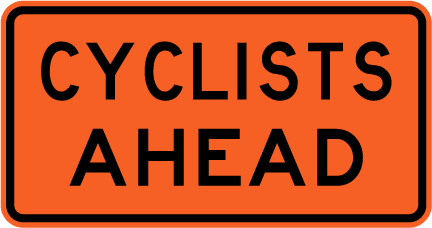 Cyclists Ahead Image