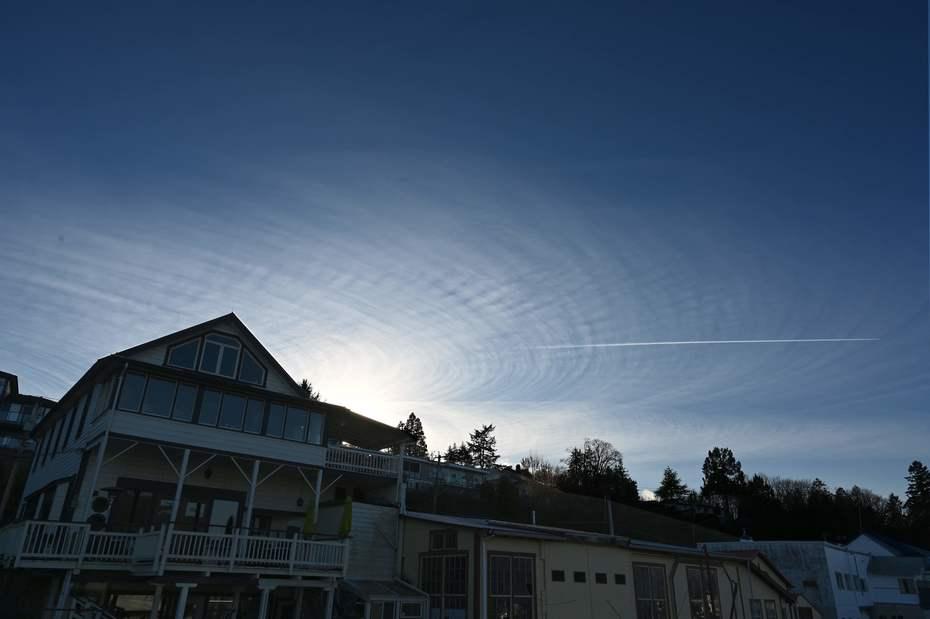 Cow Bay sky