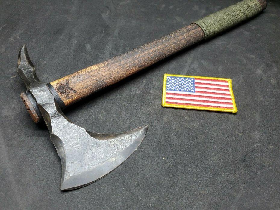 Mark McCoun custom Apache spike tomahawk