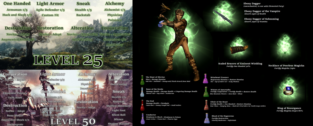 Character Build: Shamans of Skyrim - Skyrim Character Building - THE