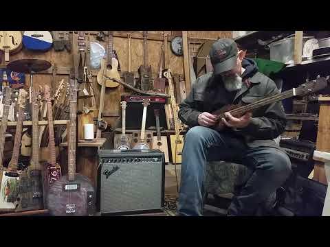 Driftwood fretless three string