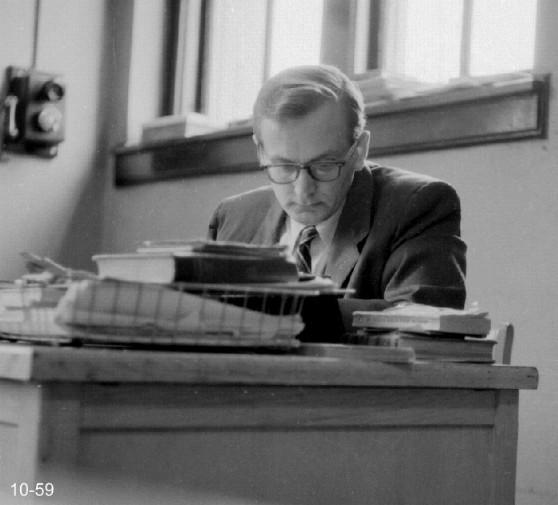 Hyde Park High__English and Creative Writing teacher Mr. Weitzel_1959