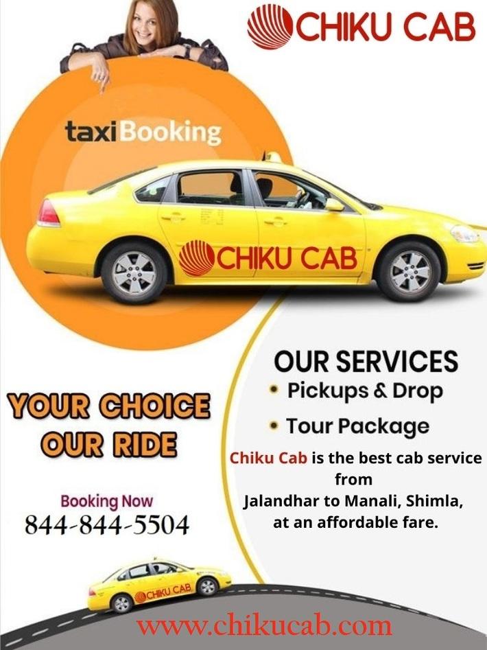 Best Cab Service from Jalandhar to Shimla, Manali