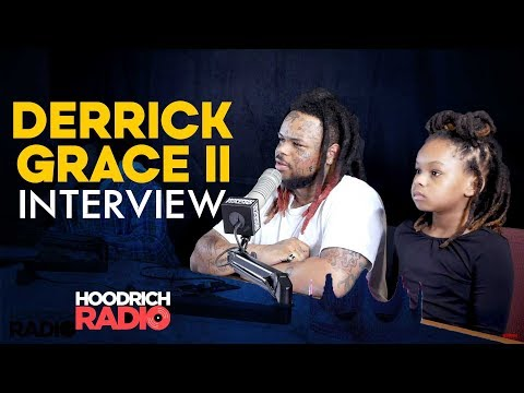 Derrick Grace II Interview on Hoodrich Radio with DJ Scream