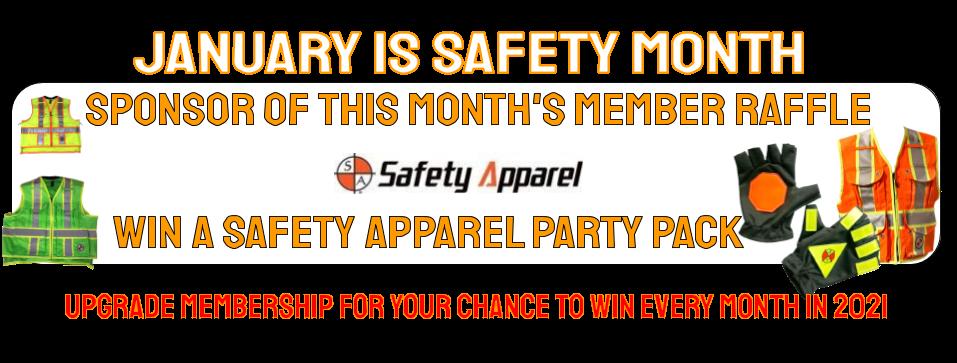 Safety Month Sponsor